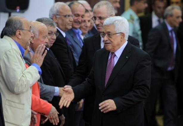 Crédito foto: El gobierno de unidad de Palestina de Fatah y Hamás hace juramento.