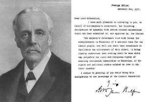 Arthur Balfour y la Declaración original Balfour