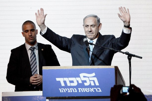 benjamin-netanyahu-large-25-greets-supporters-at-party-election-headquarters-after-the-first-results-March-2015