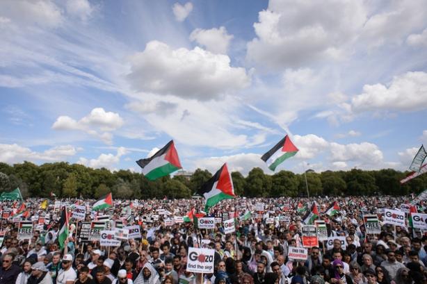 BRITAIN-ISRAEL-PALESTINIANS-CONFLICT-GAZA-DEMO